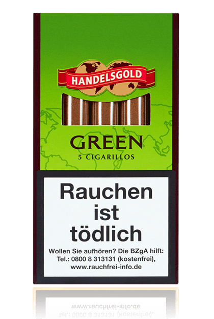 Handelsgold Sweet Cigarillos Green