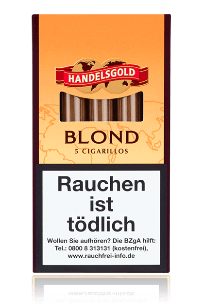 Handelsgold Sweet Cigarillos Blond