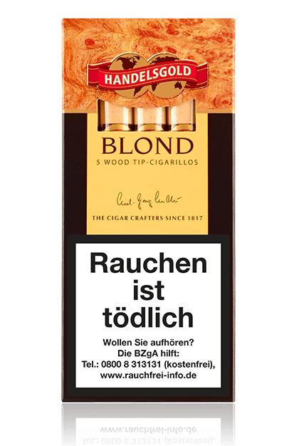 Handelsgold Blond Wood Tip-Cigarillos